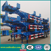 2015 Chinese 45ft Yard Chassis (Bomb Cart) with Two Axles