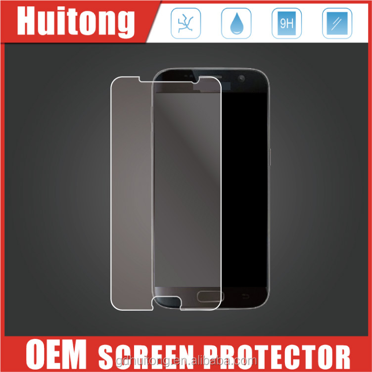 OEM Factory Supply Ultra Clear Tempered Glass Screen For Samsung Galaxy S6 edge , Glass Screen Protectors For S8 edge