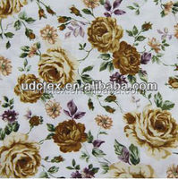 100% Cotton floral printed poplin for sale