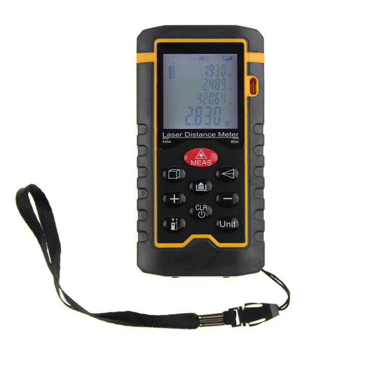 Wireless new design digital portable laser distance meter