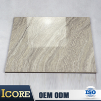 Foshan Best White And Grey 80 X 80Cm Nano Polished Unbreakable Floor Tiles