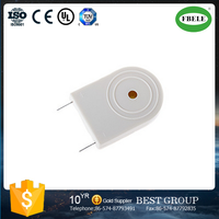 FB-32SP 12v small high-performance white magnetic piezo buzzer with 2pins (FBELE)