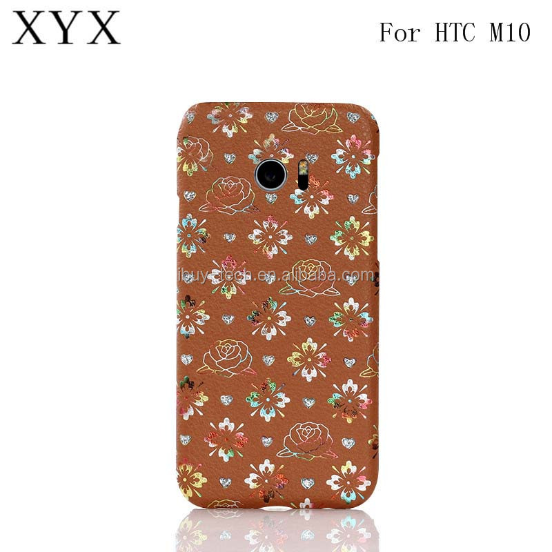 Best selling products 2017 PC leather back cover case for HTC ONE <strong>M10</strong> in alibaba