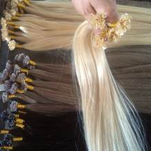 Factory wholesale indian remy human hair extensions pre bonded italian keratin nail u tip human hair extensions