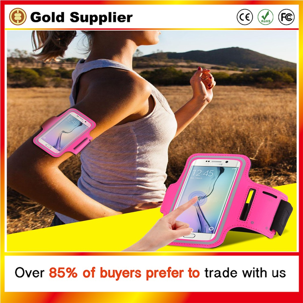 Sports Armband Case for Moblie Phone Bag for Running Sports Mobile Phone Holder Reflective Bracelet Fitness Armband