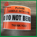 OEM do not bend warning sticker