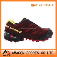 2014 new sport shoe colorful durable trail running shoe lastest design wholesale light running shoes