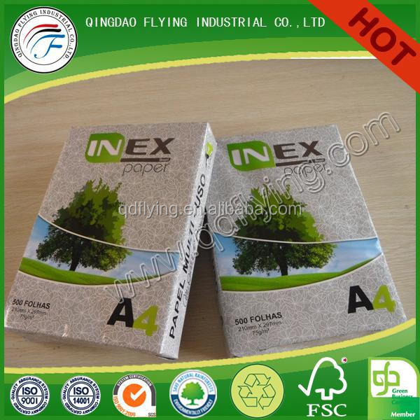 competitive price couche paper for printing a4 printing paper