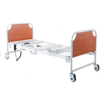 "Cheap hospital electric folding bed with 5""white noiseless caster"