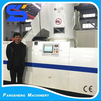 300-2000kg/h automatic compactor recycle plastic granules making machine price