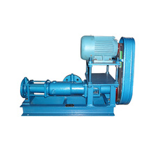 stainless steel sanitary horizontal sauce ketchup helical screw pump rotor