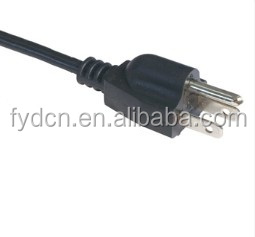 Power Cord with Voltage of 250V UL CUL and CSA Approvals