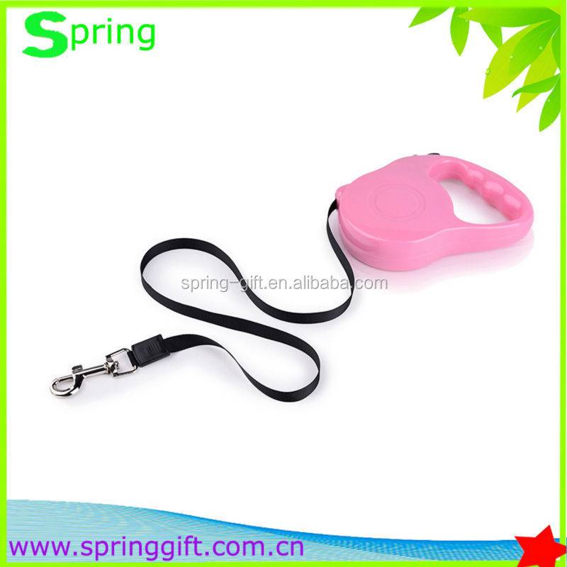 Quality retractable Amazing Camouflage Nylon Webbing Size Adjustable Luminous Dog Leash