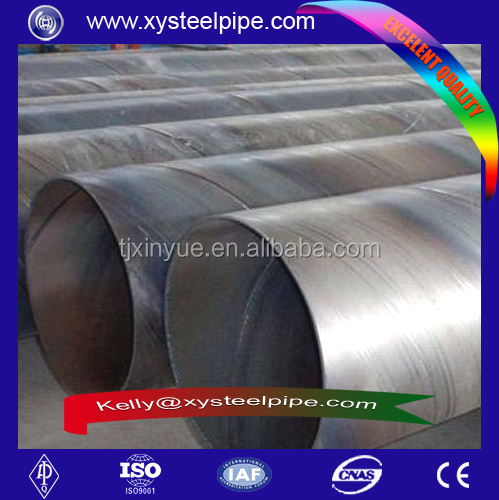 China supplier api 5l psl1 x42 Spiral steel pipe Round PE Steel Pipe Polyethylene Plastic PE Coated Spiral Steel Pipe