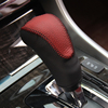 Red Black Leather Gear Shift Knob Cover for Honda Accord 9 2013 2014 Automatic