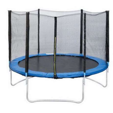 8ft trampoline mat use exercise fitness and paly toys with bouncing pad