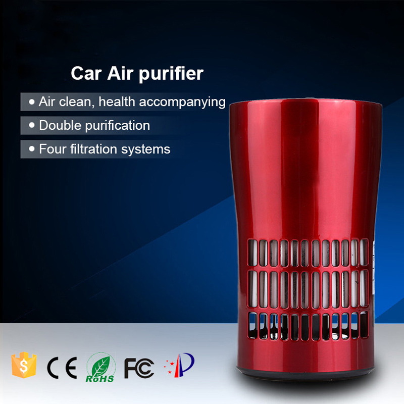 USB Air Purifier Revitalize Remove Dust Bacteria Air Freshener Cleaner Odors Filter