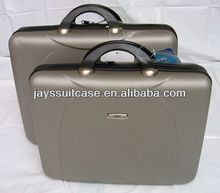 JAYS KZ-7010 Hard ABS Zipper Portfolio Briefcase Made in Jiaxing