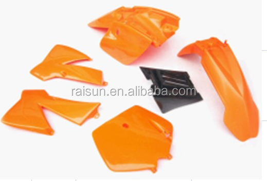 cheap <strong>KTM</strong> 50 2 stroke <strong>50cc</strong> 50XS motorcycle pitbike body plastic cover kit dirt bike Fender