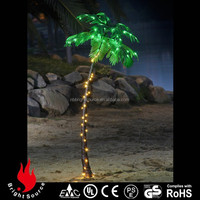 2015 wedding decotation outdoor artificial led coconut palm tree light