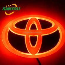 Newest led car badge light/auto badge light/led car badges emblems 12V toyota