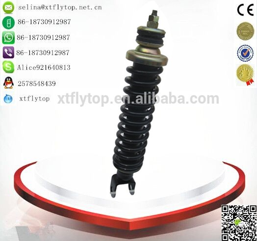 china factory hot sale three wheel bajaj pulsar spare parts 313mm front shock absorber/bajaj auto rickshaw price