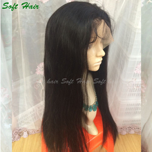 100 brazilian virgin hair full lace wigs with baby hair cheap remy human hair full lace wig in dubai