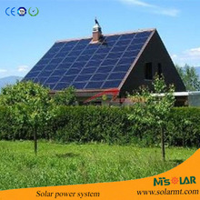 off grid 1500W solar electric power systems with high conversion