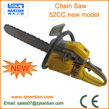 "NEW 52cc Commercial Chainsaw e-Start 20"" Bar Petrol Chain Saw Pruning"
