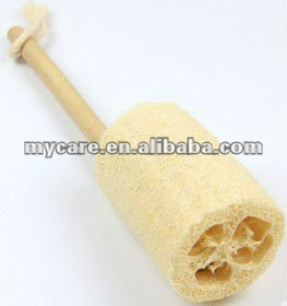 Nature loofah back scrubber