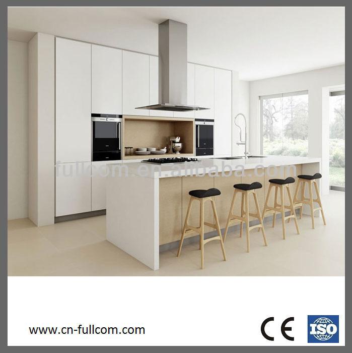 De alta calidad de estilo moderno de pvc gabinetes de la for Gabinetes para cocina modernos