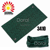 Custom Printed Handkerchiefs Seamless Tubular Fabric Head Wrap Muslim Head Scarf