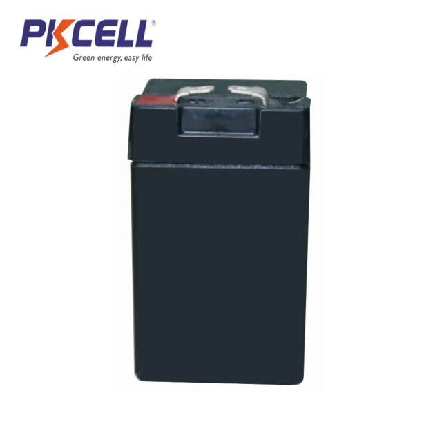 PK-420 4V 2Ah Free-Maintenance Rechargeable Lead Acid Battery