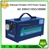 Off-grid Portable UPS emergency power supply 1000w AC 110v 220v ups battery backup Charger no break home Lighting system