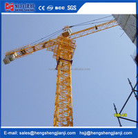 High quality rail travelling top tower crane for construction use made in China