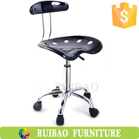 2016 High Quality Height Adjustable Low Price Durable Plastic Swivel Working Stool