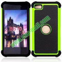 Defender Case 3 in One PC + Silicone Front and Back Protective Case for BlackBerry Z10