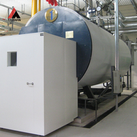Oil &Gas Steam boiler &hot water boiler 1000kg/hr for fabric machine manufactured by professional factory