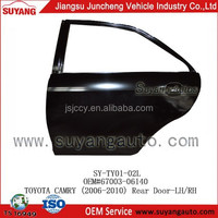 Toyota Camry 2006-2010 Car Rear Door Body Replacement