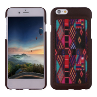 2015 China new arrive cell phone accessory new design wooden pattern leather flip case for lenovo s660