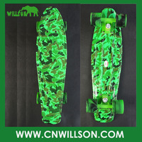 New plastic skateboard cruiser board