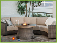 High Quality latest design garden rattan wicker sofa set waterproof covers for outdoor furniture