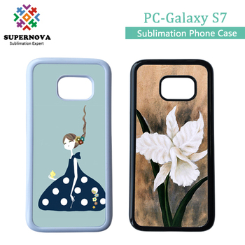 2D Sublimation Transparent Phone Case for Samsung Galaxy S7