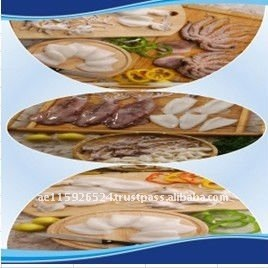 Hot Sale Cleaning Whole Round IQF Frozen Squid