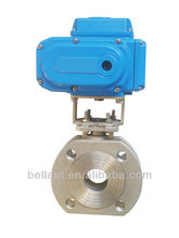 Ball actuator valve, electric motor ball valve, electric actuated choke valve