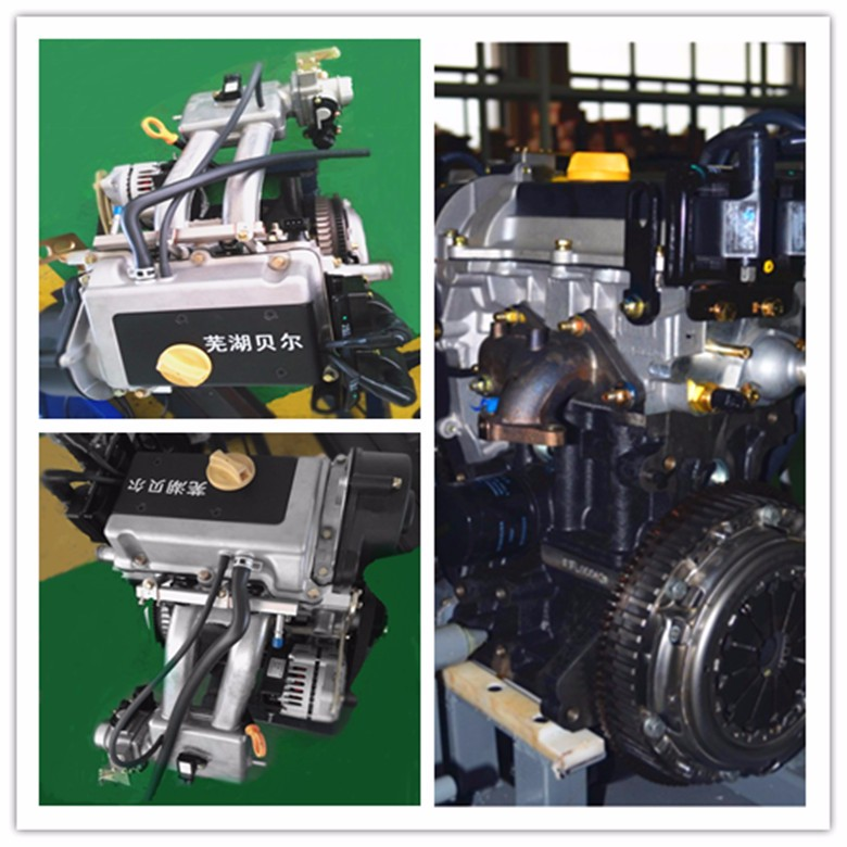 Oblique 2 Cylinder EFI Engine with gearbox,Displacement 600ccSuitable for ATV and UTV.