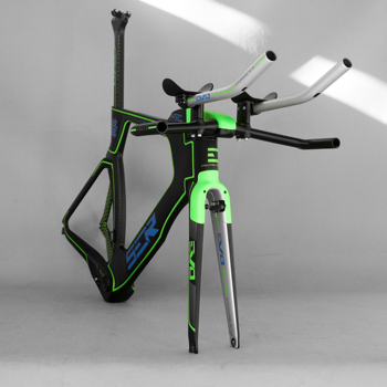 Custom Painting bikes full Carbon TT bicycle Frameset FM-TT01 with TT Handlebar and TRP brake