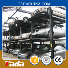 pjs three layer auto elevated car parking lift system