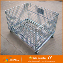 Collapsible Mesh Container For Storage Uesd