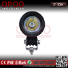 Factory direct sell cheap 2'' round 10w led work light for offroad trucks
